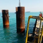 Underwater Survey & marine growth cleaning using special jet system: (2009 To present)